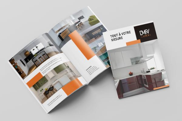 Paginação brochura mobiliário