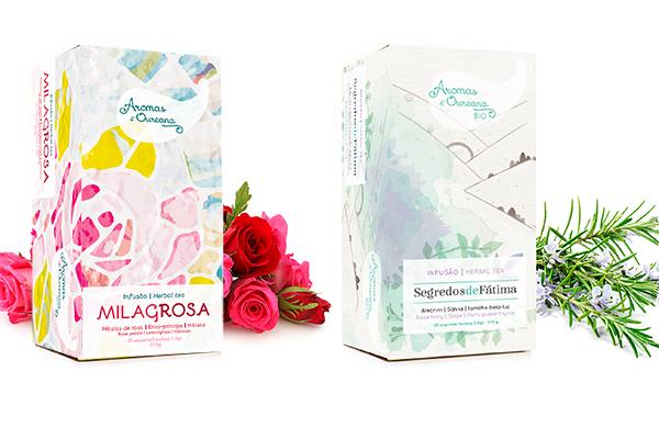Design de Embalagem Aromas Oureana