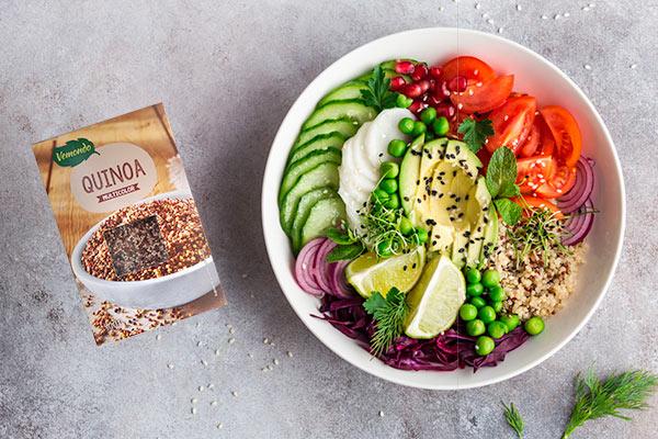 Fotografia de produto quinoa
