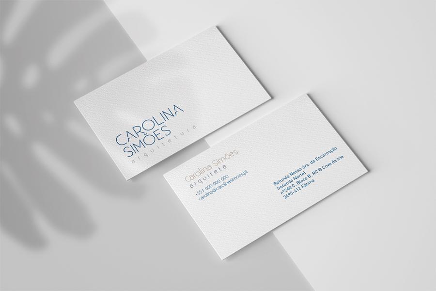 Cartões Carolina Simões - Fátima