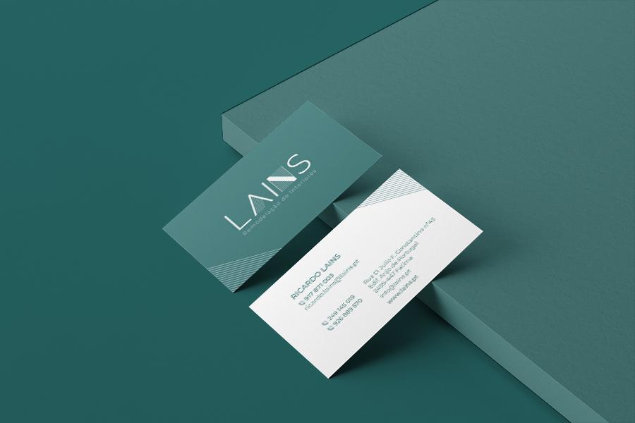 Apresentação de cartão Lains
