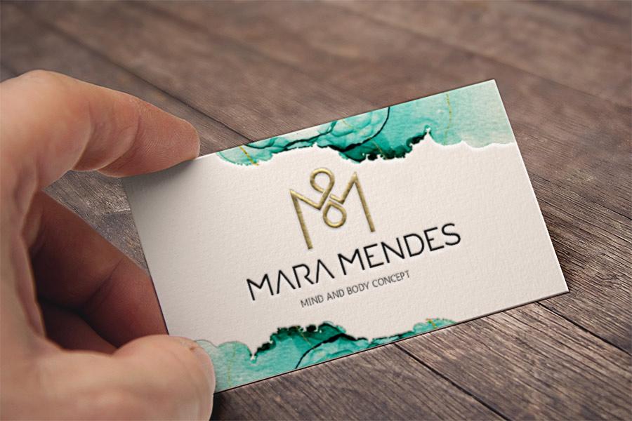 Logotipo Mara Mendes Estética